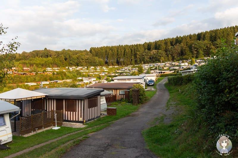 Dauercamper Gut Kalberschnacke Camping im Sauerland