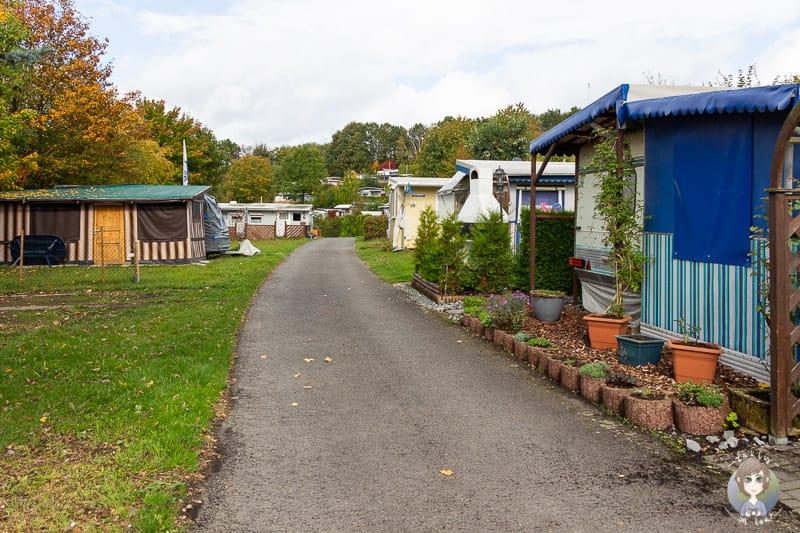 Dauercamper auf dem KNAUS Hennesee Camping im Sauerland