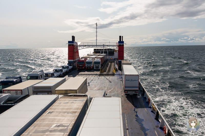 Mit der Fähre ins Baltikum