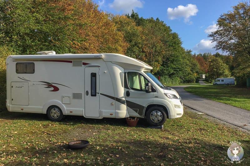 Knaus Campingpark Hennesee beim Camping Sauerland