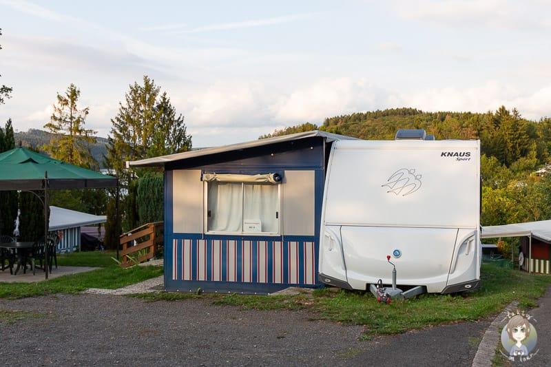 Mietwohnwagen Gut Kalberschnacke Camping im Sauerland