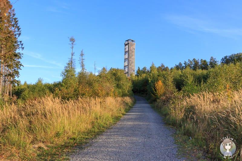 Möhneseeturm auf Wohnmobil Tour im Sauerland
