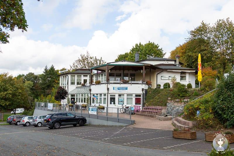 Das Restaurant auf dem KNAUS Camping am Hennesee im Sauerland