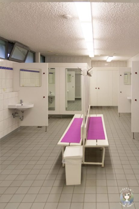 Sanitäranlagen auf dem KNAUS Hennesee Camping im Sauerland