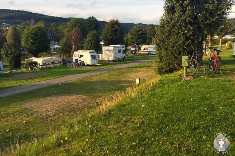 Sauerland Camping auf dem Gut Kalberschnacke am Listersee