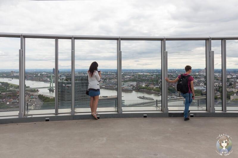 Aussichtsplattform Köln mit 360 Grad Blick