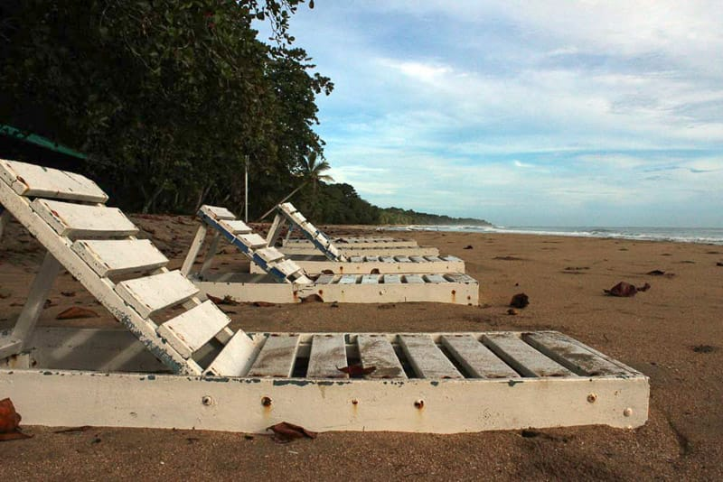 Strand beim Glamping in Costa Rica
