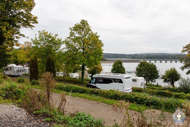 Terrassencamping am Möhnesee beim Camping im Sauerland