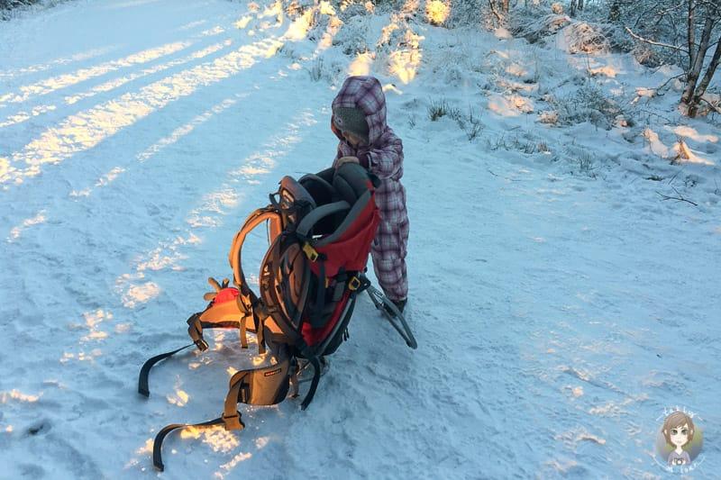 Wandern mit Kind am Mont Rigi