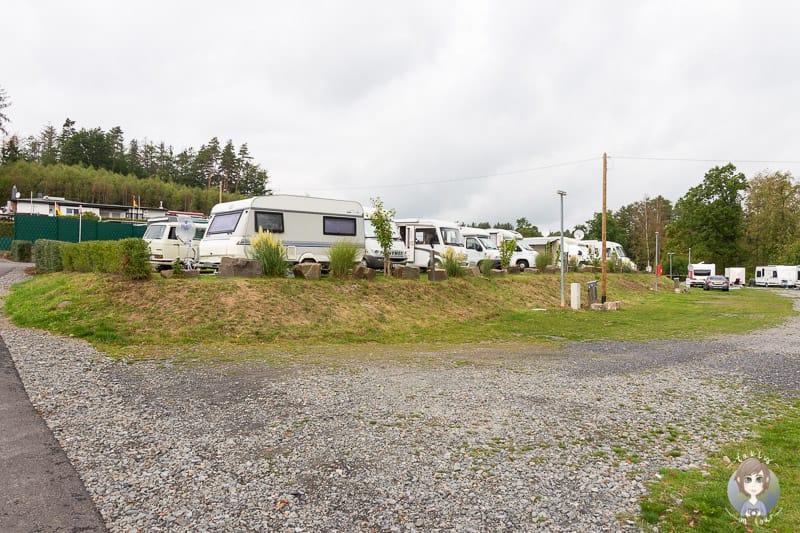 Wohnmobil Camping am Sorpesee im Sauerland