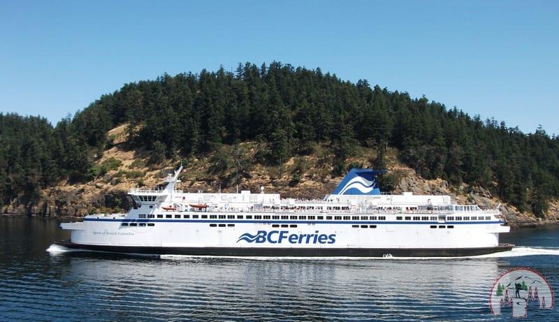 Mit BC Ferries nach Vancouver
