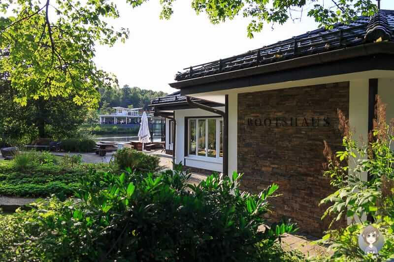 Bootshaus am Obersee in Olpe im Sauerland
