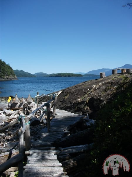 Camp beim Orca Whale Watching auf Vancouver Island