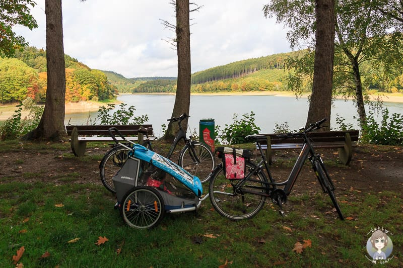 Fahrrad-Hennesee-Sauerland
