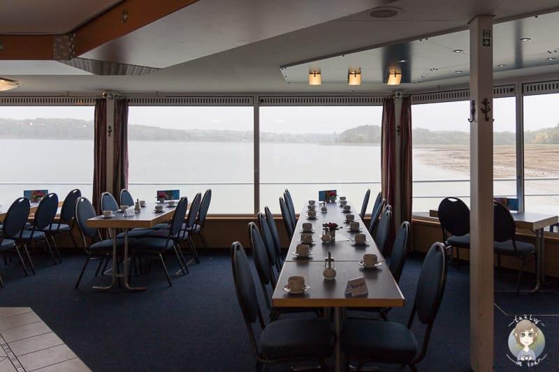Gastronomie auf der Möhnesee Schifffahrt