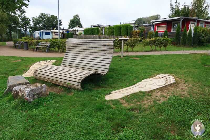 Interaktive Station vom Airlebnisweg am Sorpesee