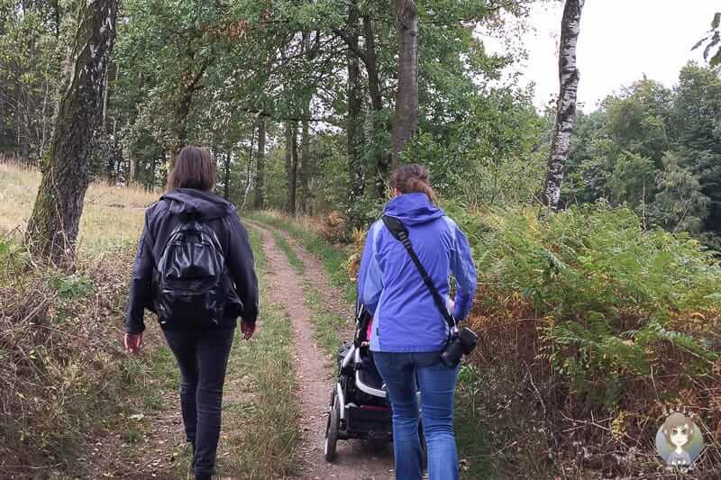 KuLTour Wanderung mit Kinderwagen