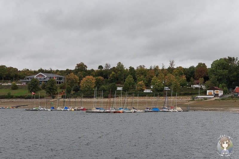 Möhnesee Schifffahrt in Delecke