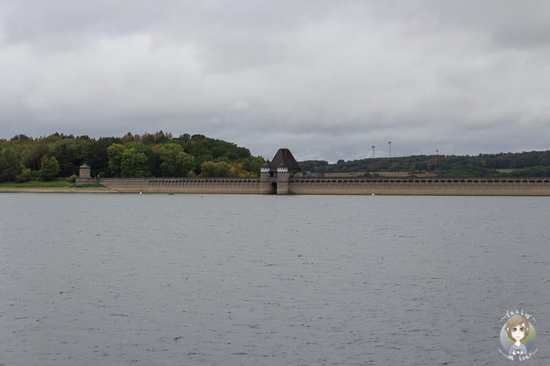Möhnesee Sperrmauer im Sauerland