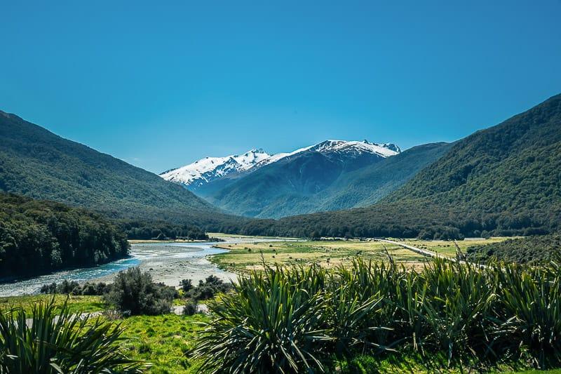Der Haast Pass bei einer 4 Wochen Neuseeland Reise