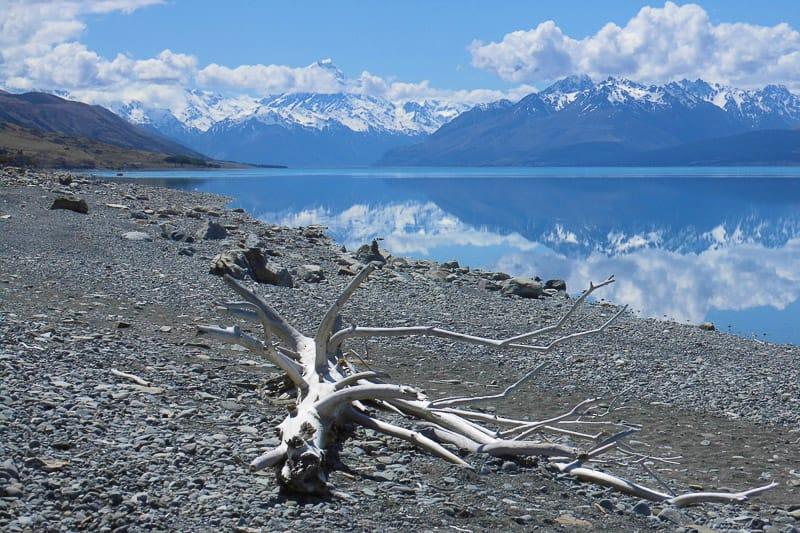 Besuch am Lake Pukaki auf einem Neuseeland Roadtrip für 4 Wochen