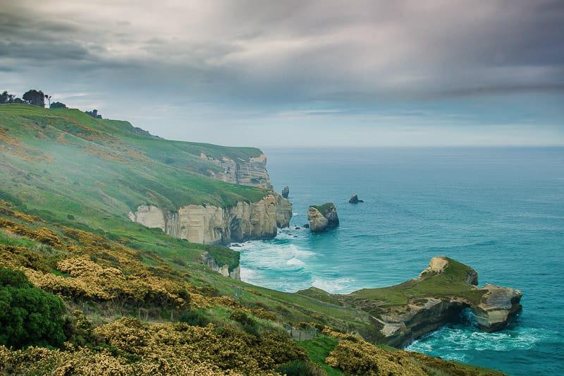Die Landschaft bei Dunedin auf einer Neuseeland Rundreise von 3 Wochen - Antje Moritzen