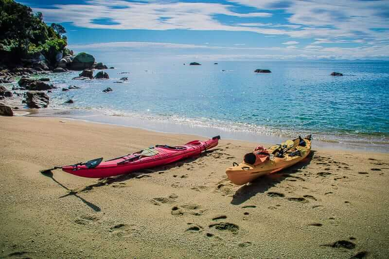 Kajaken in einem Neuseeland Urlaub von 3-4 Wochen