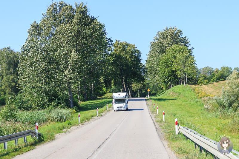 Über Polen nach Litauen auf dem Landweg ins Baltikum