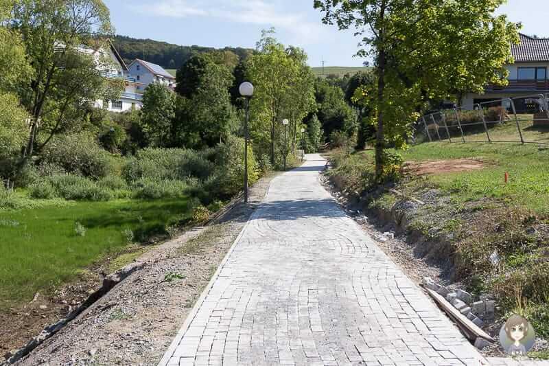 Die neue Promenade am Diemelsee