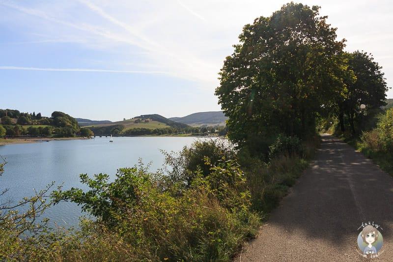 Spaziergang am Diemelsee im Sauerland