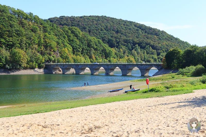 Strombrucher Brücke am Diemelsee