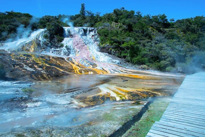 Thermalgebiete auf einer Neuseeland Reise in 4 Wochen