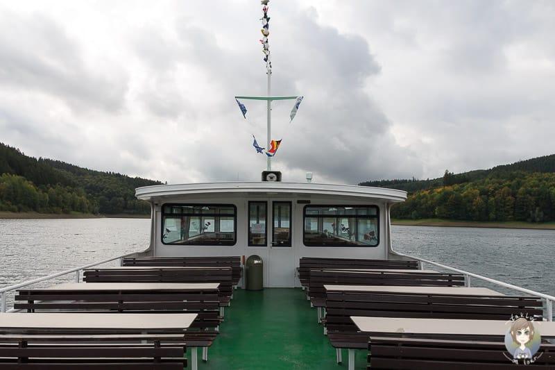 Tour mit der MS Hennesee Schifffahrt