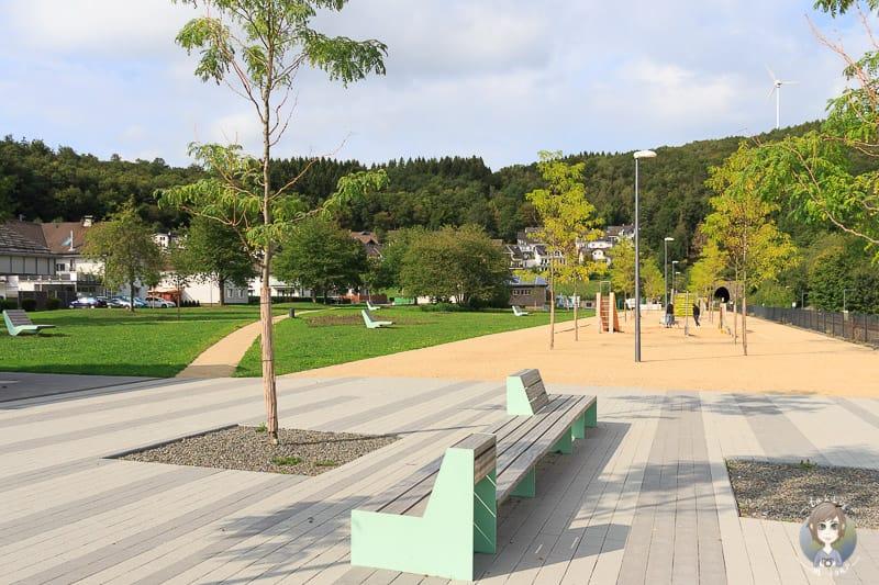 Uferpromenade in Sondern am Biggesee im Sauerland
