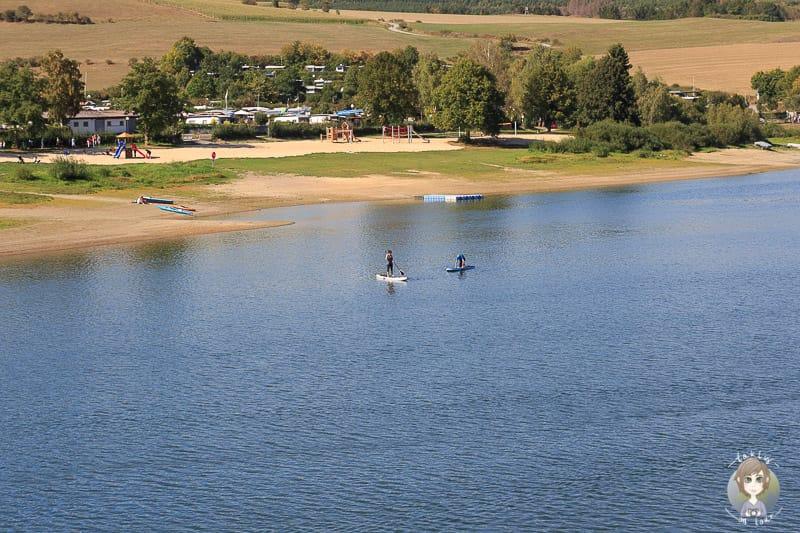 Wassersport auf dem Diemelsee im Sauerland