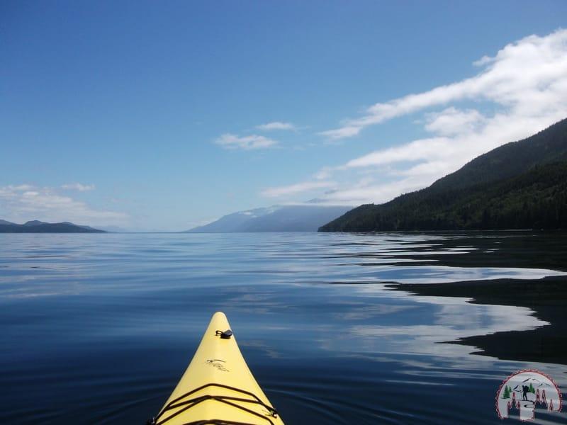 Tour mit North Island Kayak auf Vancouver Island