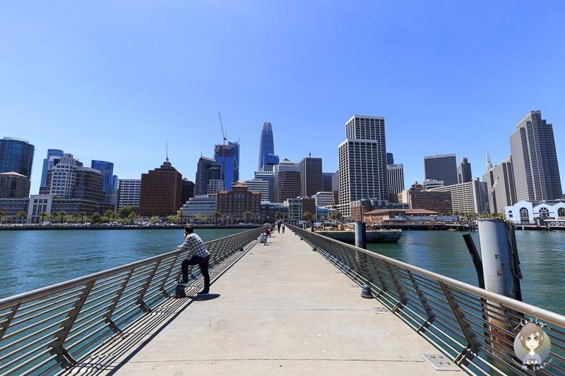 Besuch in San Francisco auf Reise mit Wohnmobil an der USA Westküste