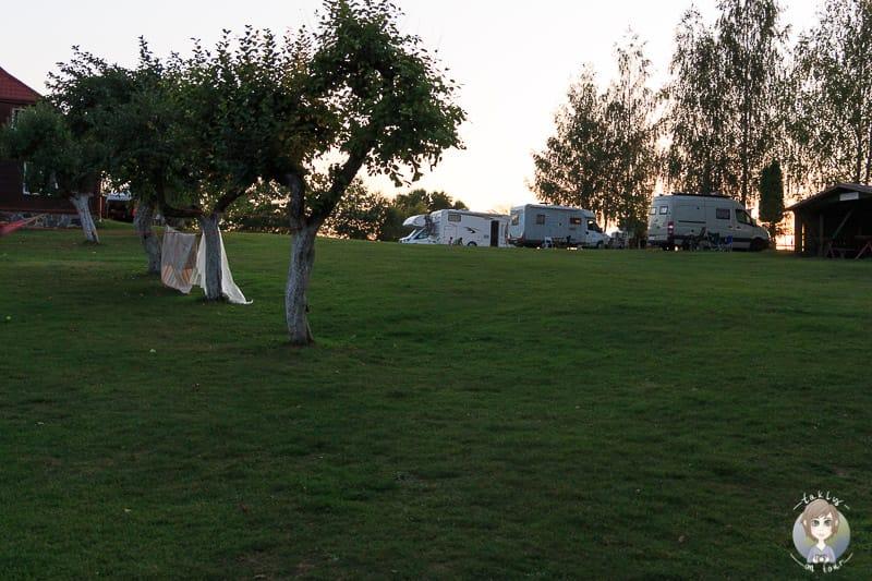 Campingplatz in Wigry Polen
