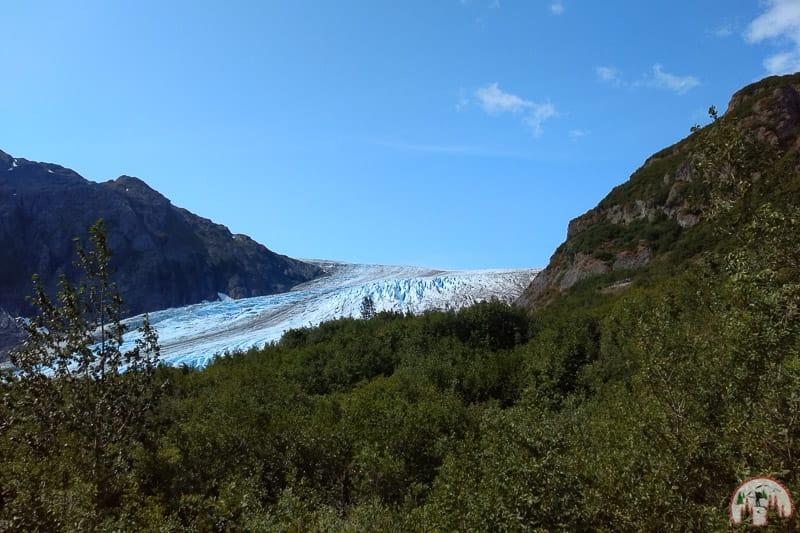 Exit Glacier Hike nahe Seward in Alaska