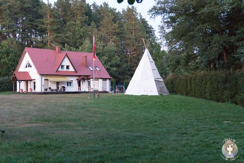 Haus Isagsee in Pelnik Masuren in Polen