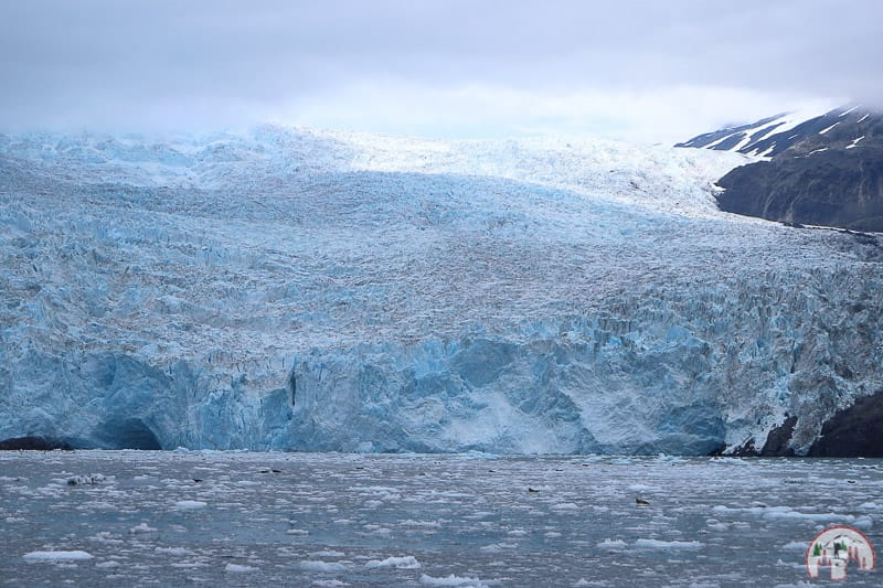 Holgate Glacier im Kenai Fjords Nationalpark in Seward Alaska