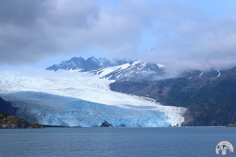 Holgate Gletscher nahe Seward in Alaska