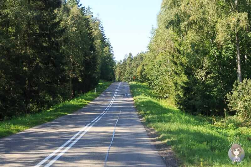Landweg ins Baltikum über Polen nach Litauen