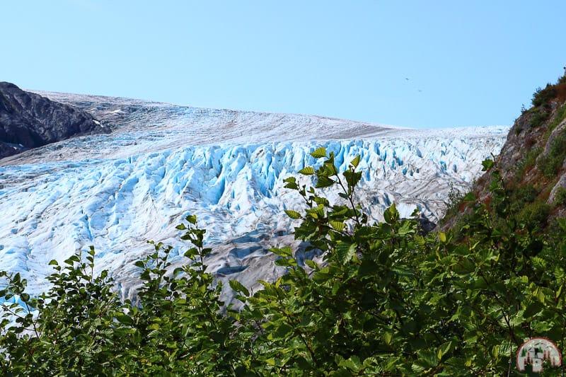 Seward in Alaska der Exit Glacier Harding Icefield
