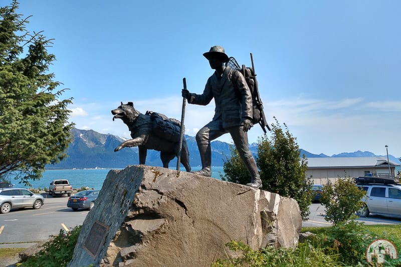 Das Blazers Monument in Seward in Alaska