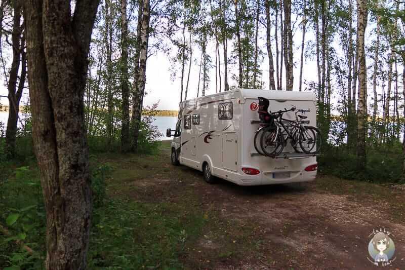 Wildcamping im Baltikum mit dem Wohnmobil