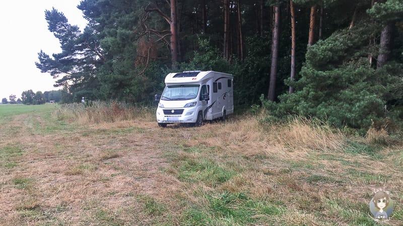 Wildcamping in Polen