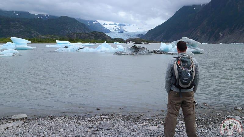In der Kachemak Bay auf Kenai Alaska
