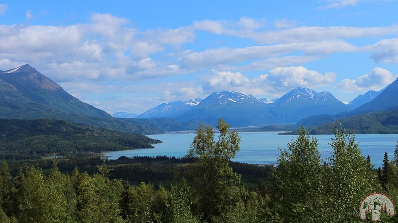 Besuch am Blick vom Hidden Creek Overlook auf Kenai Alaska