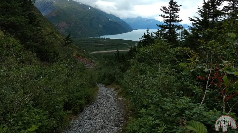 Portage Glacier Wanderung in Kenai Alaska